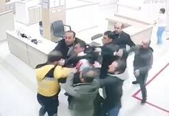 Diyarbakırda, hasta yakınları sağlık çalışanına saldırdı