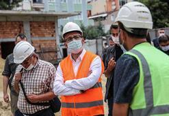 Bakan Kasapoğlu, İstanbulda yapımı süren tesisleri inceledi