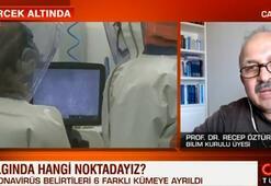 Bilim Kurulu üyesi Recep Öztürk CNN Türkte açıkladı Önümüzdeki hafta görülebilir