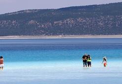 Vali Arslantaş: Salda Gölümüzün suyu içilebilir