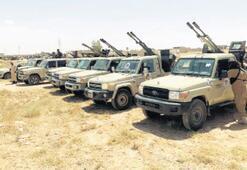 Libya ordusundan Sirte çevresine askeri sevkiyat