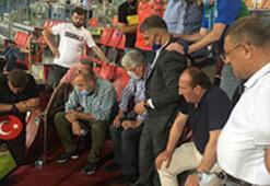 Çaykur Rizespor protokolünde Medipol Başakşehir sevinci