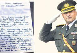 İşte hain Albayın el yazısıyla darbe talimatı