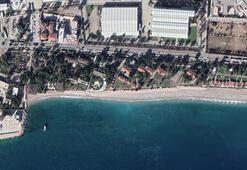Konyaaltı Sahili 60 yılda 35 metre eridi, bir havluluk yer kaldı