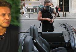 Survivor Murat Ceylanın lüks aracı ve tarzı dikkat çekti