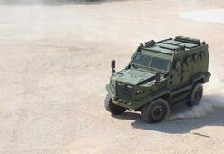 Türk zırhlı muharebe aracı Hızır Afrika yolunda
