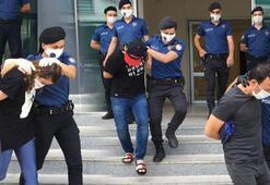 Bursada uyuşturucu operasyonunda gözaltına alınan 10 kişi adliyede