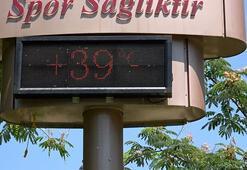 Adanada termometreler 39 dereceyi gösterdi