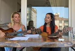 Sosa'nın eşi Carolina Alurralde 'iki keklik' türküsünü söyledi
