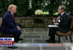Son dakika Donald Trump ve sunucu arasında canlı yayında gerilim