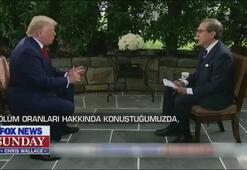 Donald Trump canlı yayında sunucu ile tartıştı