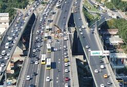 Trafik durma noktasına geldi Çalışmalar 18 Ağustosa kadar devam edecek