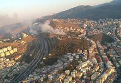 Son dakika haberi: İzmirde korkutan yangın: Kontrol altına alındı
