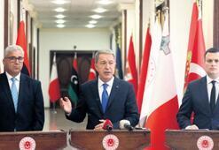 Ankara'da üçlü Libya toplantısı