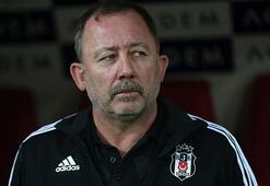 Beşiktaşta transfer zirvesi Sergen Yalçın ve Başkan Çebi...