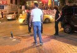 İstanbulun göbeğinde maganda kabusu: Gözaltına alındılar