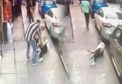 İstanbul'da dehşet anları Herkesin göz önünde ateş açtı