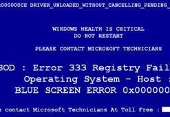 Mavi Ekran Hatası Neden Olur, Çözümü Nedir Windows Bilgisayarlarda Karşılaşılan Sorun İçin Öneriler