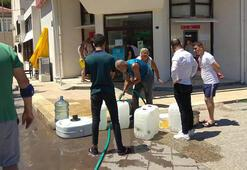 İzmir Foçada 93 saatlik su kesintisi