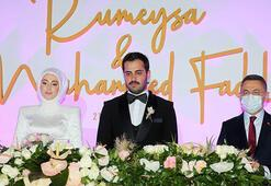 Cumhurbaşkanı Yardımcısı Oktay nikah şahitliği yaptı