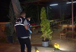 Çay ocağında otururken vuruldular 1 ölü, 2 yaralı