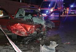 Ankara'da feci kaza 2 ölü 1'i çocuk 3 yaralı