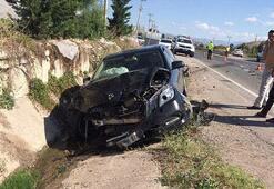 Son dakika Sinop Valisinin içinde bulunduğu otomobil kaza yaptı