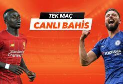 Liverpool - Chelsea maçının heyecanı Tek Maç ve Canlı Bahis seçenekleriyle Misli.com'da