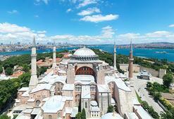PTTden Ayasofya Camii için özel pul