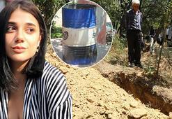 Türkiyeyi sarsan vahşet Pınar Gültekinin öldürüldüğü evin içi görüntülendi