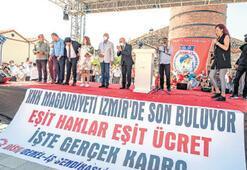 Soyer, KHK'lı işçilere hakkını verdi