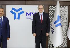 AB Türkiye Delegasyonu Başkanı Bergerden Mesleki Yeterlilik Kurumuna ziyaret
