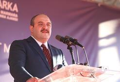 Bakan Varank temel atma töreninde açıkladı: Son 3 ayda bir ilk