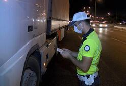 TIR ve kamyonlarda kurbanlık denetimi