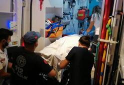 Omuz atma kavgası kanlı bitti: 1 kişi ağır yaralı