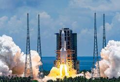 Son dakika... Tarihi an: Çinin Marsa yolculuğu başladı