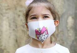 Uzmanı uyardı: Çocuklara desenli maske takmayın