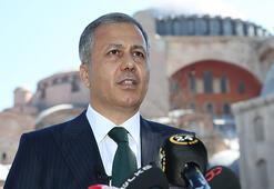 Son dakika... Tarihi gün İstanbul Valisi Ali Yerlikayadan Ayasofya Camii açıklaması