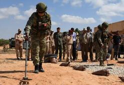 MSB: Libyada mayın ve EYPlerin imha çalışmaları sürüyor