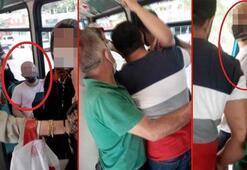 Bursa metrosunda kadınların gizlice fotoğrafını çektiği iddia edilen kişi darp edildi