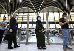 Bağdat Havalimanı 4 ay sonra uçuşlara açıldı