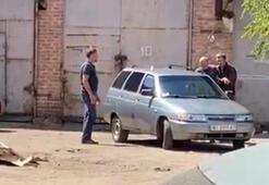 Ukraynada bir rehine krizi daha El bombasıyla rehin aldı