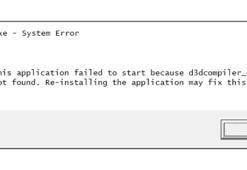 D3Dcompiler_43.dll Hatası Çözümü Nedir Sorunu Gidermek İçin Öneriler
