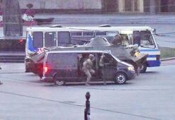 Son dakika... Ukraynada rehine takası yapıldı, saldırgan Kieve hareket etti