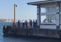 Beşiktaşta denize giren kişi boğuldu