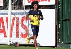 Fenerbahçede Luiz Gustavo son antrenmanda yer aldı