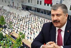 Sağlık Bakanı Kocadan Ayasofyada kılınacak namaz için uyarı: Tedbirli cumaları örnek alalım