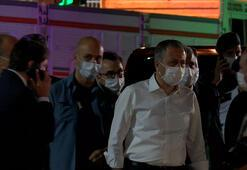 Vali Yerlikaya ve Emniyet Müdürü Aktaş, Ayasofya-i Kebir Camisinde hazırlıkları inceledi