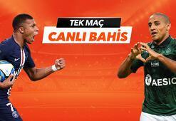 PSG - St. Etienne maçı Tek Maç ve Canlı Bahis seçenekleriyle Misli.com'da
