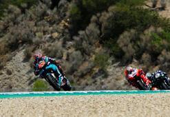 MotoGPde heyecan yine İspanyada yaşanacak